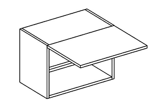 Horní kuchyňská skříňka - Casarredo - Moreno - W50 nad digestoř