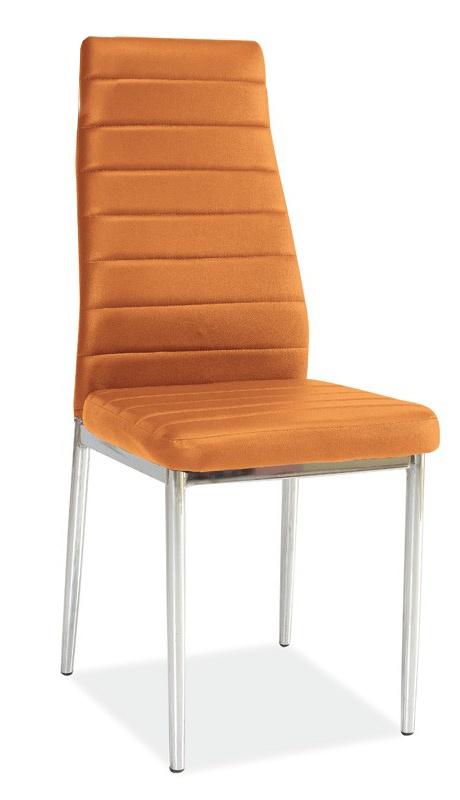 Jídelní židle - Casarredo - h-261 oranžová