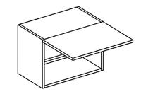 Horní kuchyňská skříňka - Casarredo - Smile - W50 nad digestoř