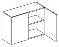 Horní kuchyňská skříňka - Casarredo - Smile - W80