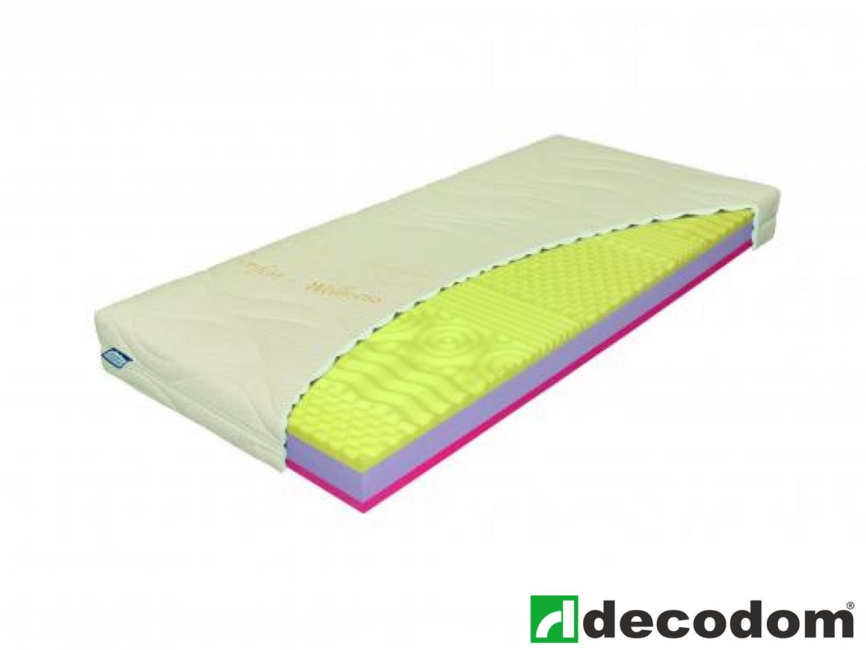 Pěnová matrace - Decodom - Antibakterial visco - 200x90 cm