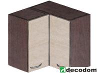 Horní kuchyňská skříňka, rohová - Decodom - Stela - H 60 RM