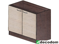 Spodní kuchyňská skříňka - Decodom - Stela - S 100