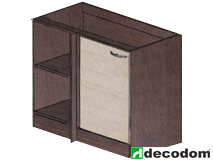 Spodní kuchyňská skříňka, rohová - Decodom - Stela - S 110 R