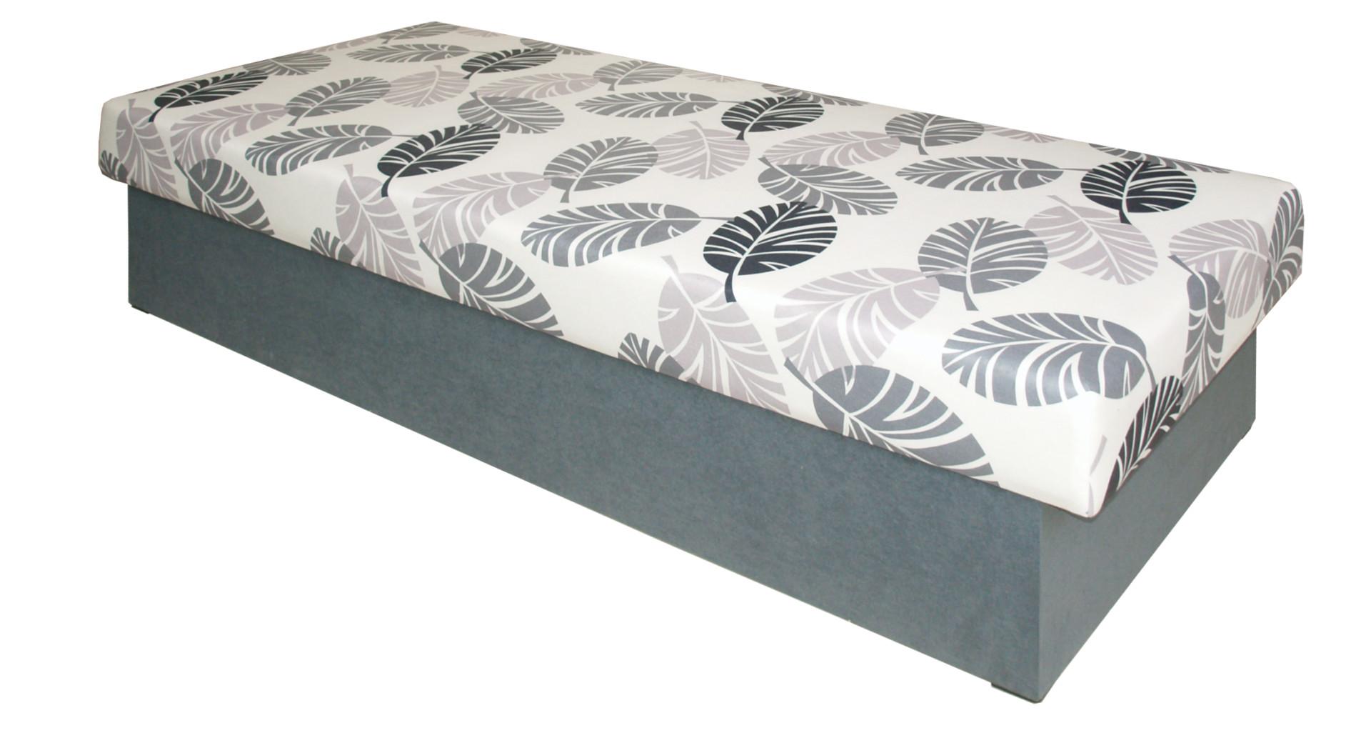 Jednolůžková postel (válenda) 80 cm - Decodom - Solo (s roštem a matrací)
