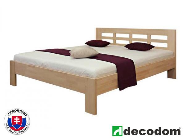 Manželská postel 180 cm - Decodom - Vegas (masiv)