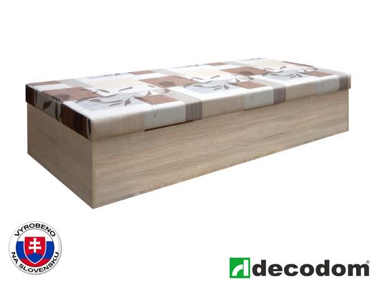 Jednolůžková postel (válenda) 85 cm - Decodom - Oli Bardolino + R4A (s matrací)