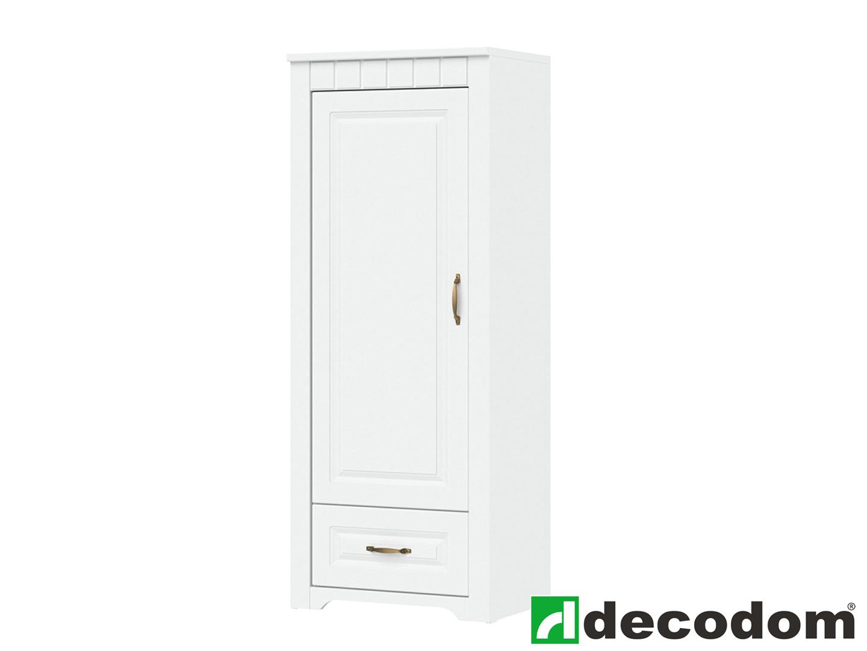 Policová skříň - Decodom - Lirot - Typ 03 (bíla arctic)