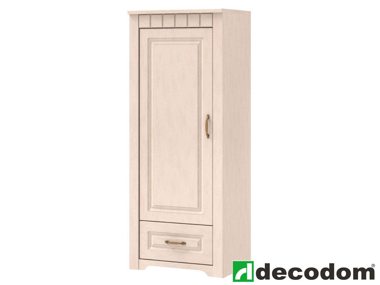Policová skříň - Decodom - Lirot - Typ 03 (vanilka patina)