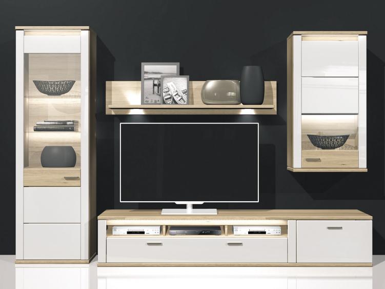 Obývací stěna - Decodom - Wera - Kombi 01 (s osvětlením)
