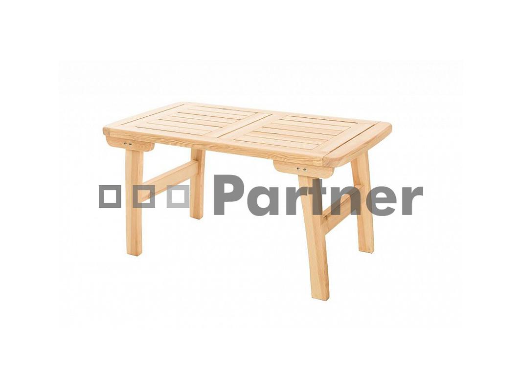 Zahradní stůl - Deokork - Romantic (Borovice masiv)