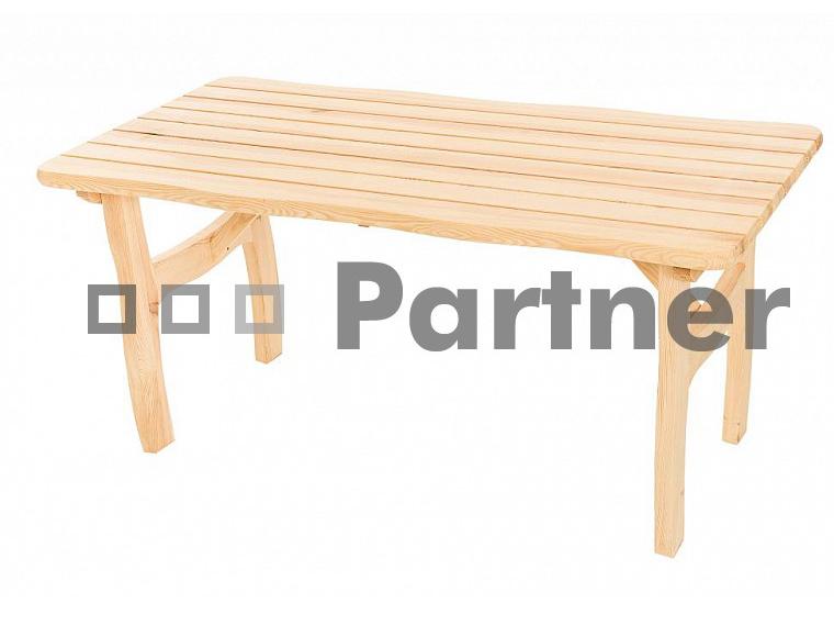 Zahradní stůl - Deokork - Viking (Borovice masiv)