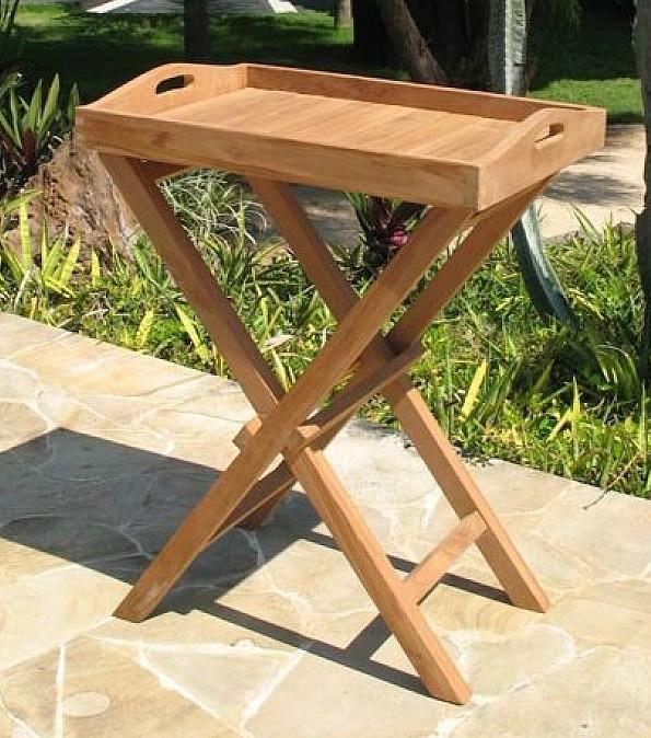 Zahradní stolek - Deokork - Gaudi (Teak)