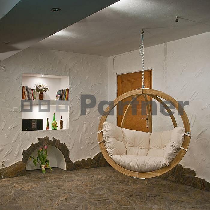 Závěsné houpací křeslo - Deokork - Zita natural