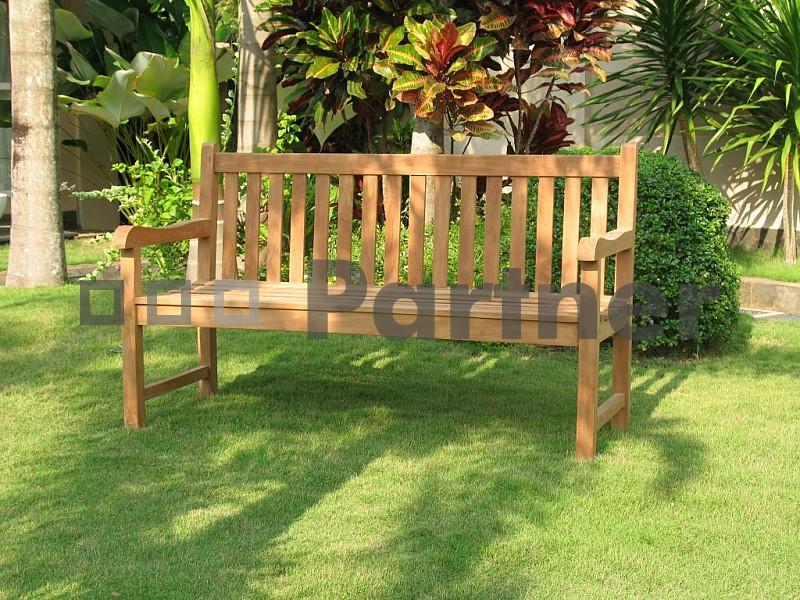 Zahradní lavička - Deokork - Florencie 150 cm (Teak)