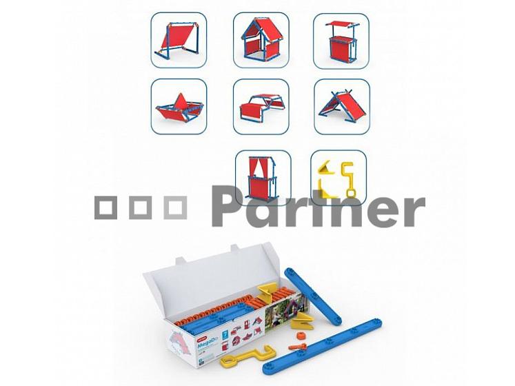 Detská multifunkčná stavebnice - Deokork - Detska stavebnice