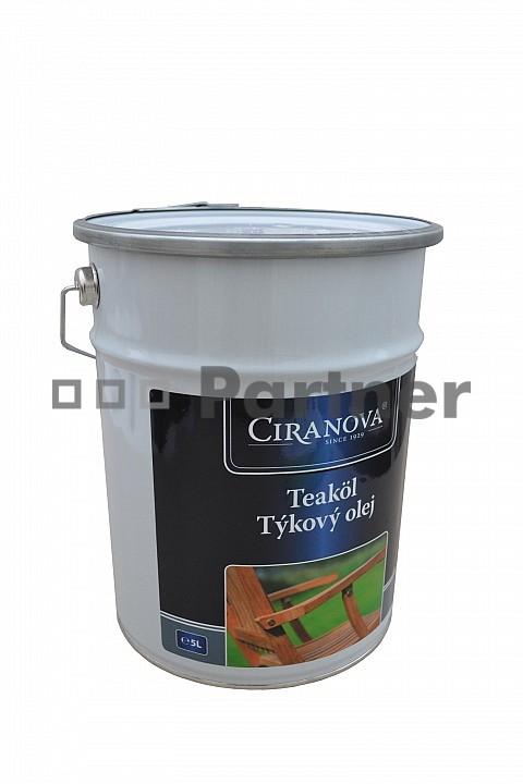 Ochranný prostředek na zahradní nábytek - Deokork - Ciranova teakový olej 5 l