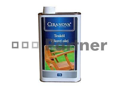 Ochranný prostředek na zahradní nábytek - Deokork - Ciranova teakový olej 1 l (Meranti)