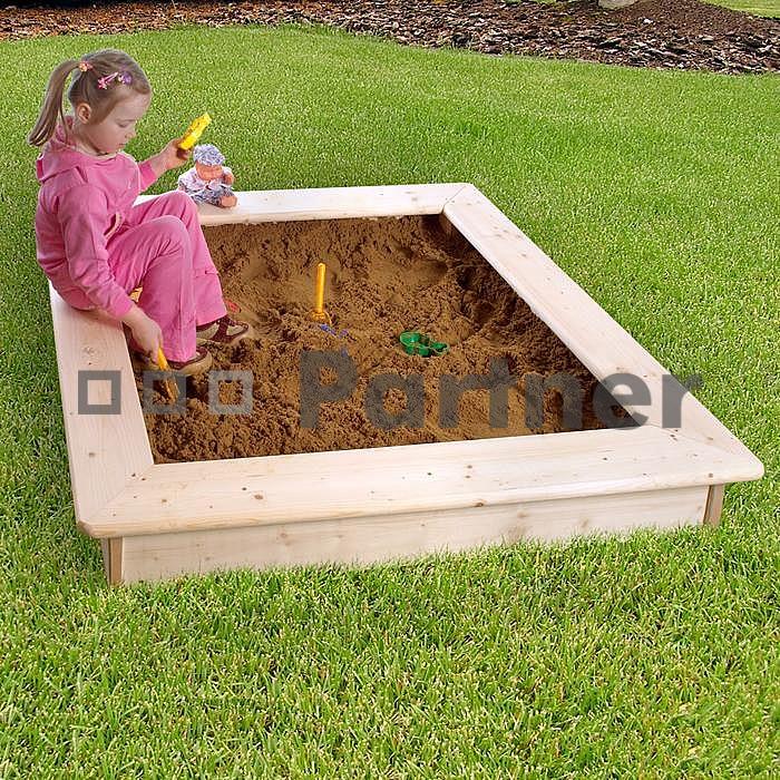 Zahradní pískoviště s poklopem - Deokork *bábovičky ZDARMA