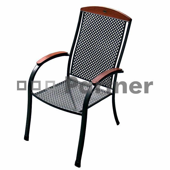 Zahradní židle - Deokork - Monaco (kov)