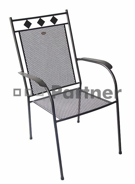 Zahradní židle - Deokork - Boston (Kov)
