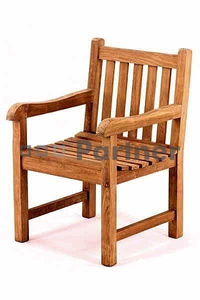 Zahradní židle - Deokork - Roma (Teak)
