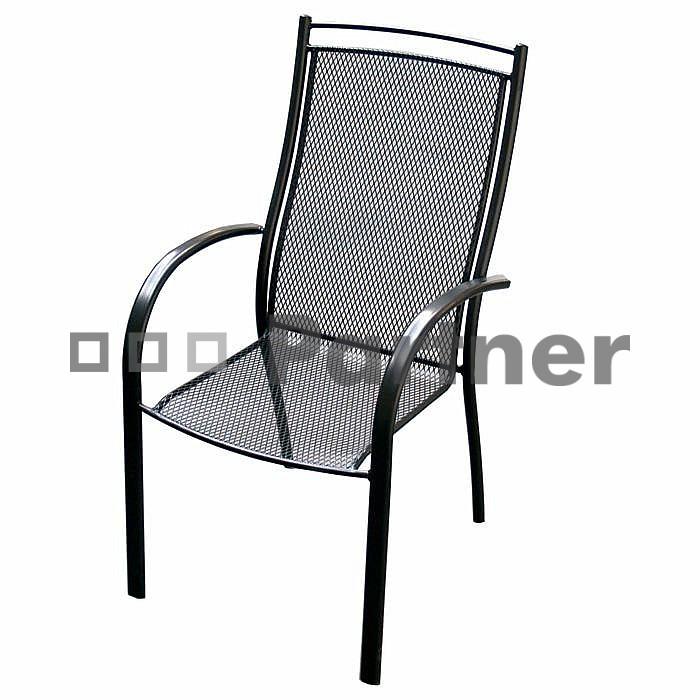 Zahradní židle - Deokork - Elton (kov)