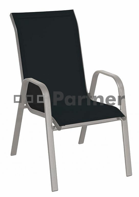 Zahradní židle - Deokork - Gloria černá (kov)
