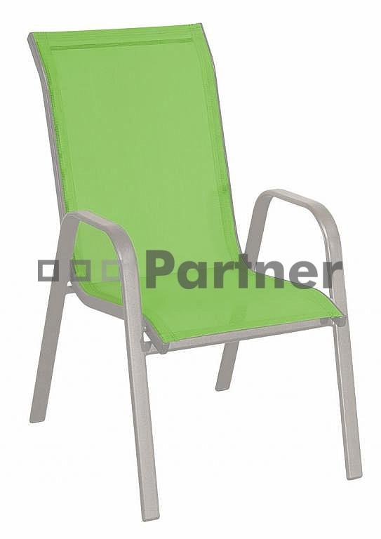 Zahradní židle - Deokork - Gloria zelená (kov)