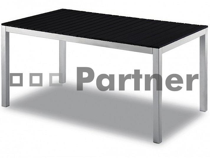 Zahradní stůl - Deokork - TD98191-AL-NE 150x90 cm (Kov)