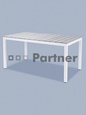 Zahradní stůl - Deokork - T119361-AL-BI (Kov)