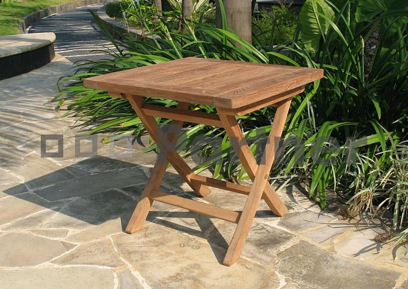 Zahradní příruční stolek - Deokork - Canada (Teak)