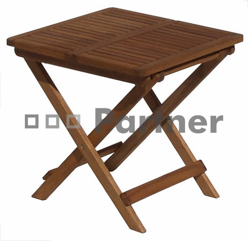 Zahradní příruční stolek - Deokork - Ipswich (Akácie)