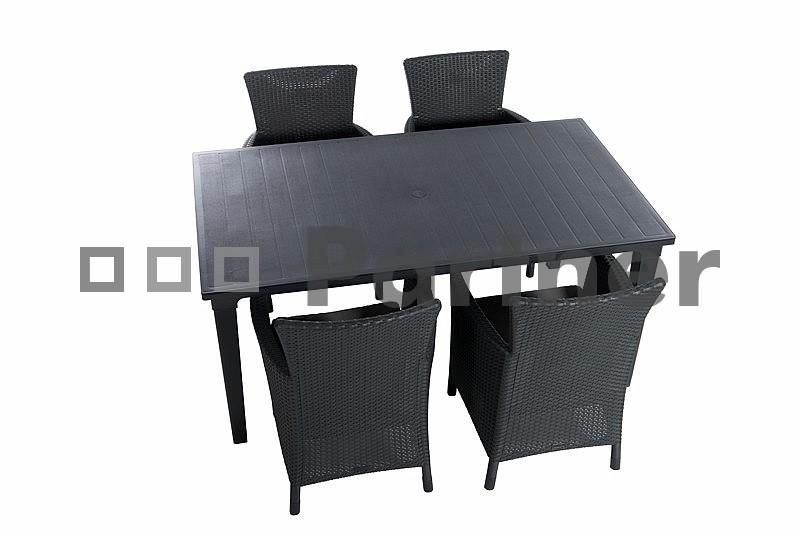 Zahradní nábytek - Deokork - Union I 1+4 (um. ratan)