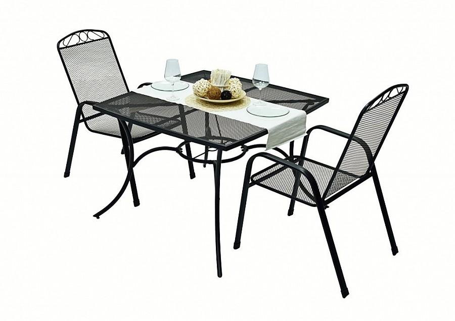 Zahradní nábytek - Deokork - Grey 1+2 (kov)