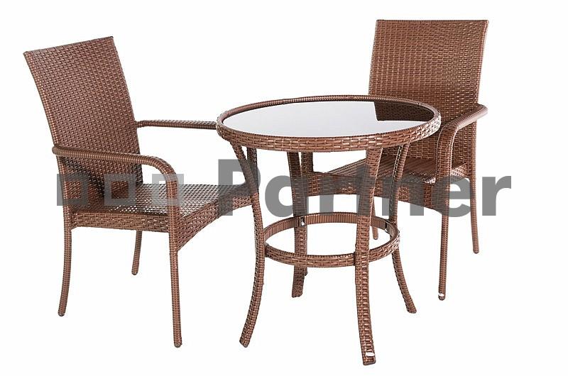 Záhradní nábytek - Deokork - Bern 1+2 (um. ratan)