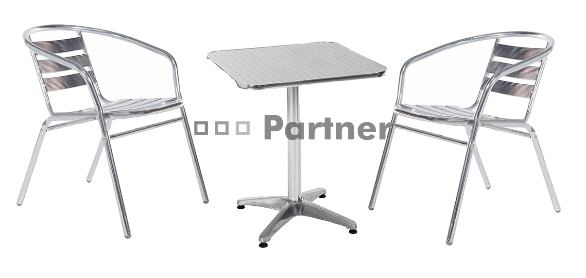Záhradní nábytek - Deokork - Piknik 1+2 (kov)