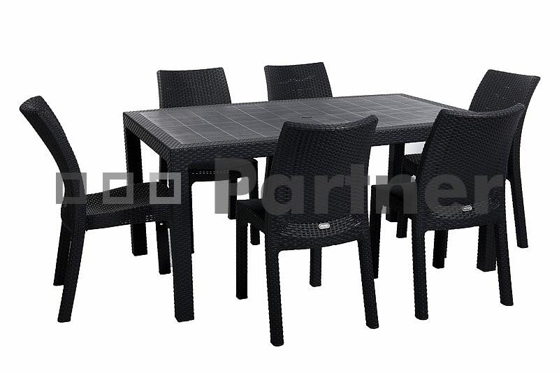 Záhradní nábytek - Deokork - Puket 1+6 (um. ratan)