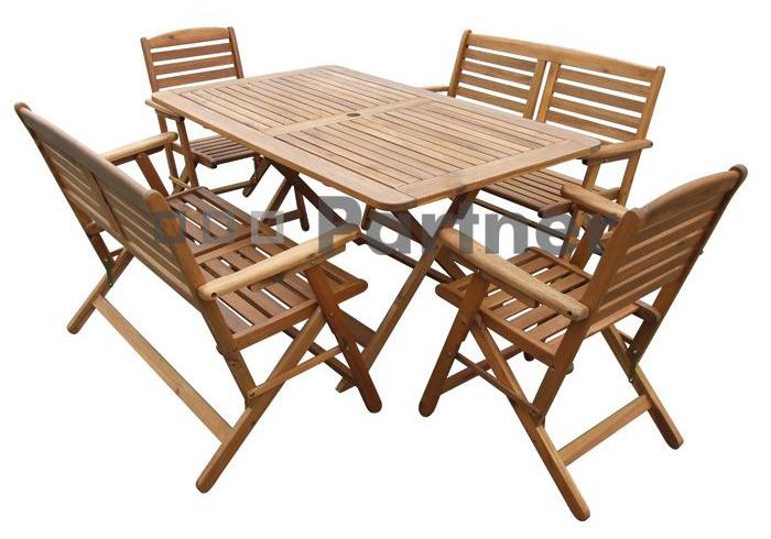 Záhradní nábytek - Deokork - Westminster 1+2+2 (Akácie)
