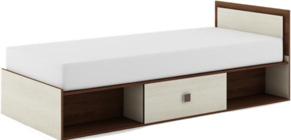 Jednolůžková postel 90 cm - Dig-net - Majka - MM-16 (s matracem)