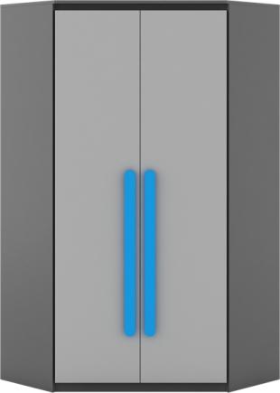 Rohová šatní skříň - Dig-net - Play - PL-01