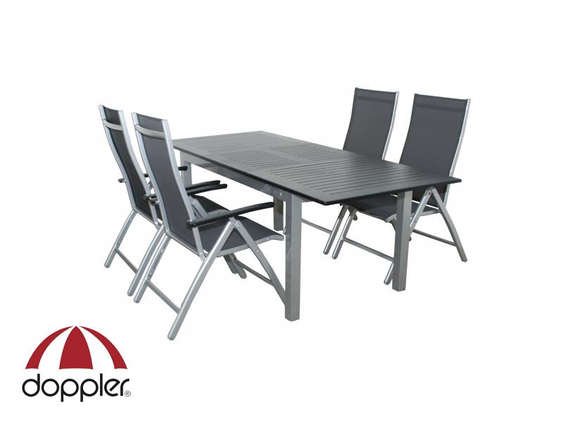 Zahradní nábytek - Doppler - Detroit Concept 1+4 (hliník)