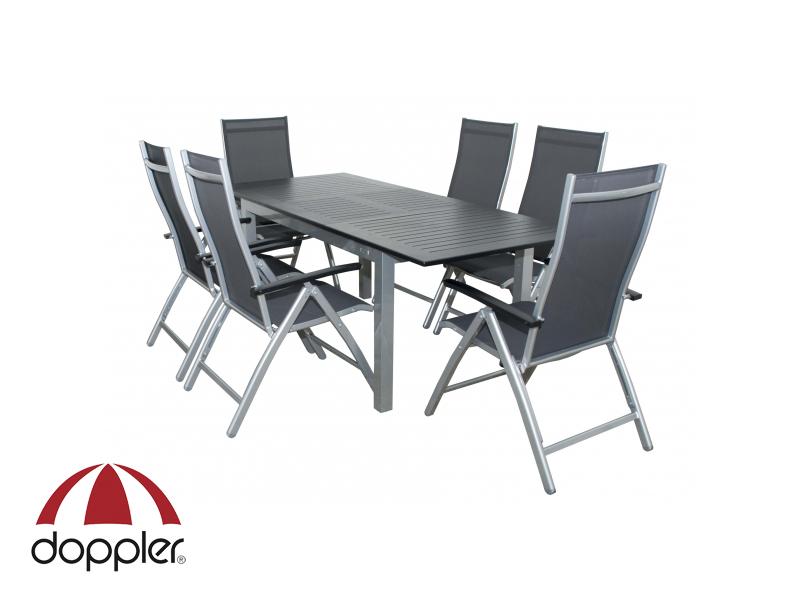 Zahradní nábytek - Doppler - Detroit Concept 1+6 (hliník)