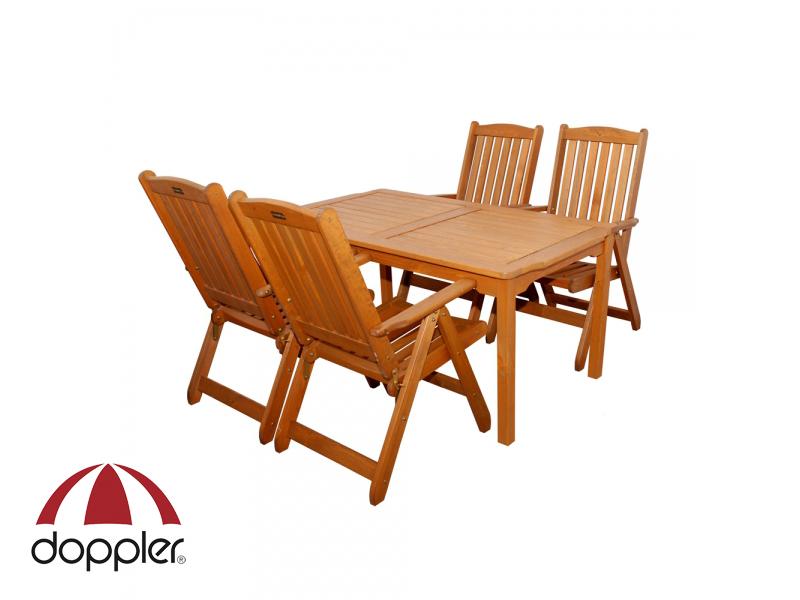 Zahradní nábytek - Doppler - Wörthersee 1+4 (borovice)