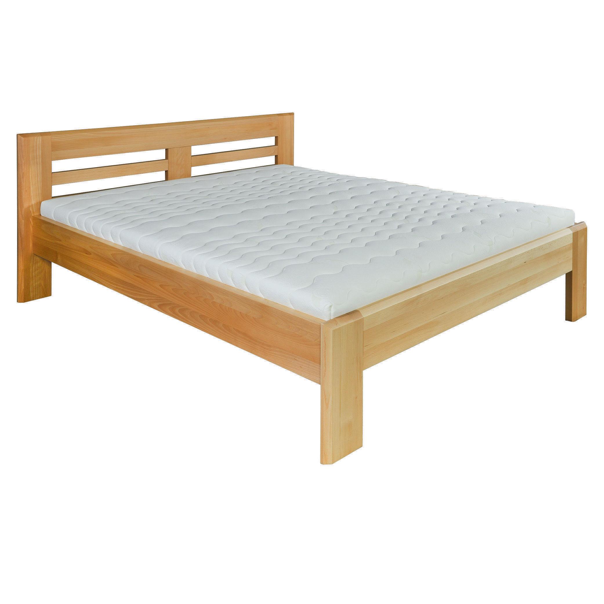 Jednolůžková postel 120 cm - Drewmax - LK 111 (buk) (masiv)