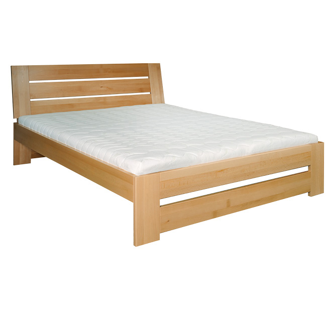 Jednolůžková postel 120 cm - Drewmax - LK 192 (buk) (masiv)