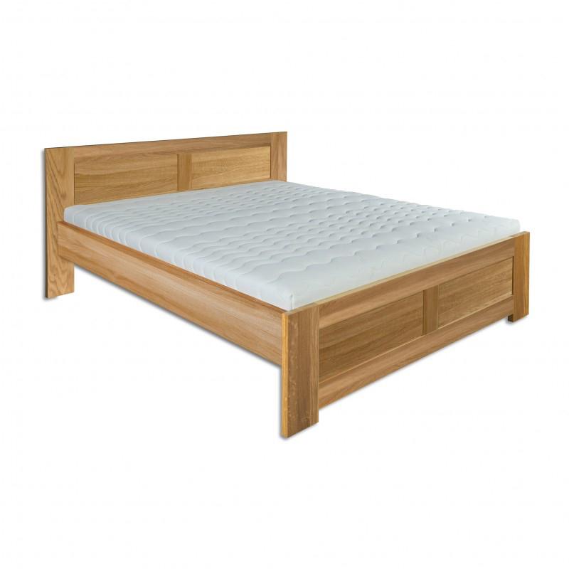 Jednolůžková postel 120 cm - Drewmax - LK 212 (dub) (masiv)