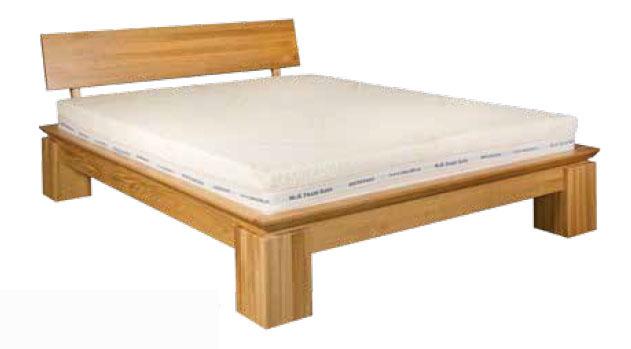 Jednolůžková postel 120 cm - Drewmax - LK 213 (dub) (masiv)
