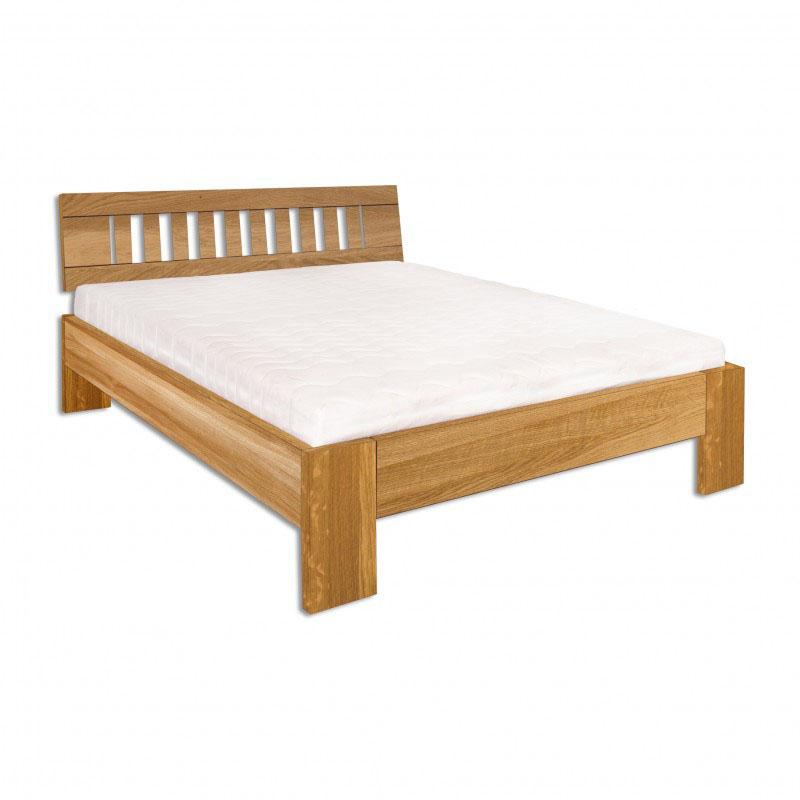 Jednolůžková postel 120 cm - Drewmax - LK 293 (dub) (masiv)