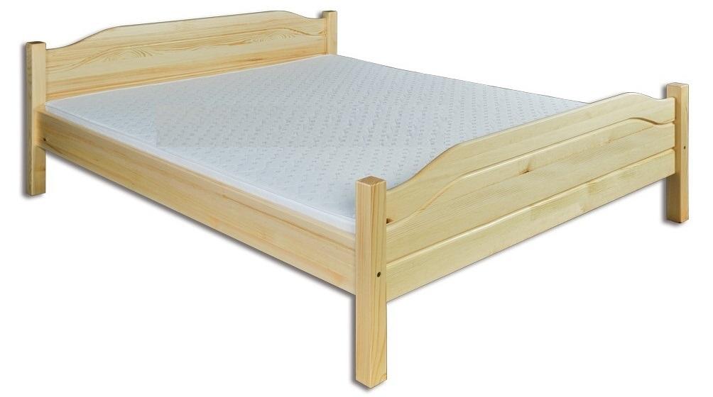 Manželská postel 200 cm - Drewmax - LK 101 (masiv)